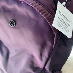 Lululemon Out of Range backpack